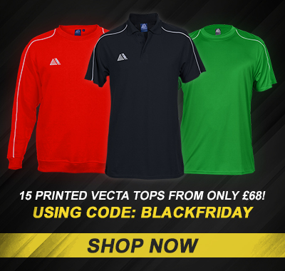 Vecta Tops - Black Friday 2019 | Pendle Sportswear