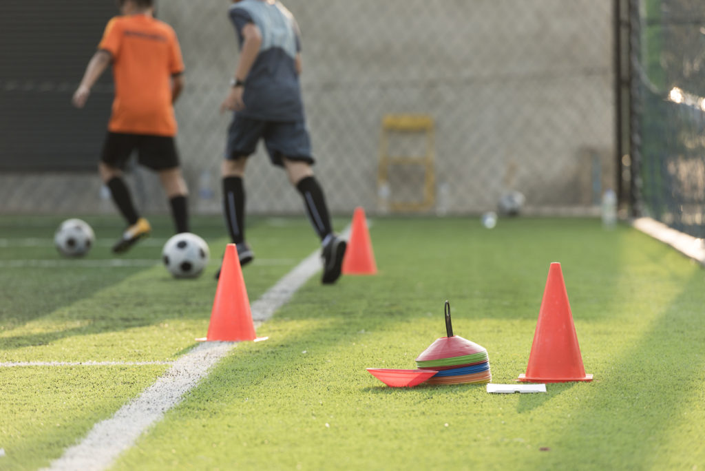 Football Training Cones and Markers