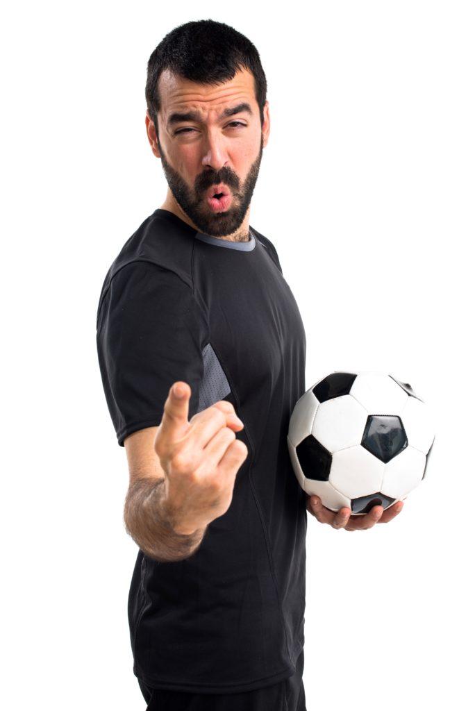 Grassroots Football Team Sin Bin
