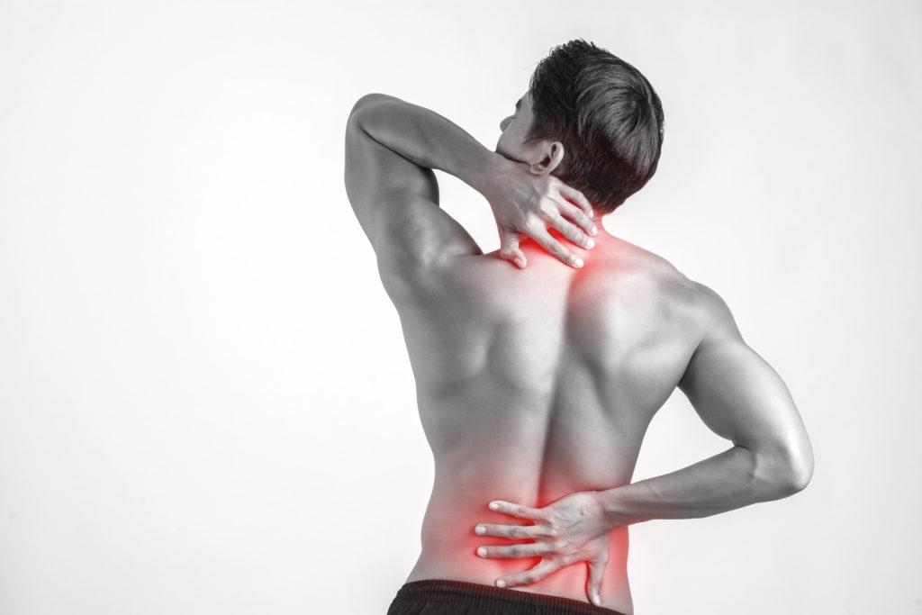 Football Back Pain