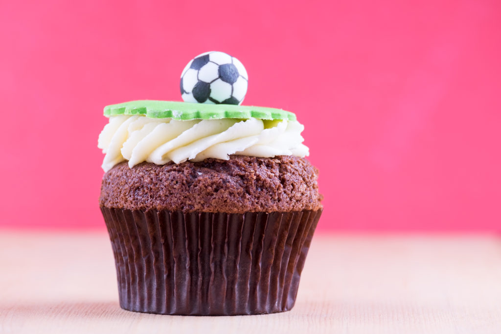 Pendle Football Cupcake