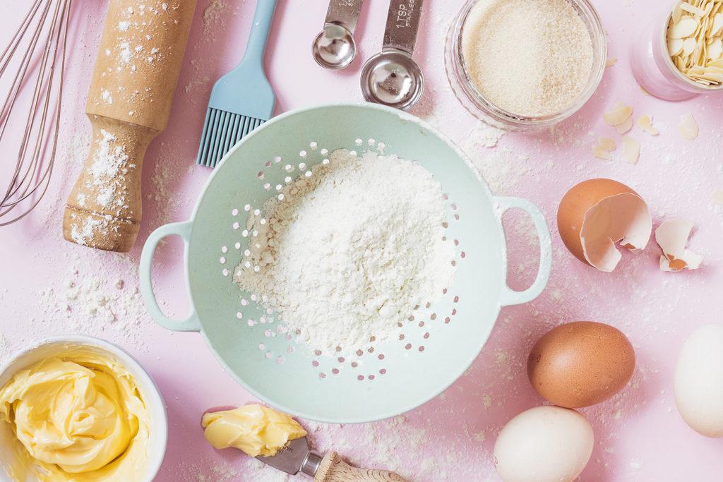 Biscuit baking ingredients