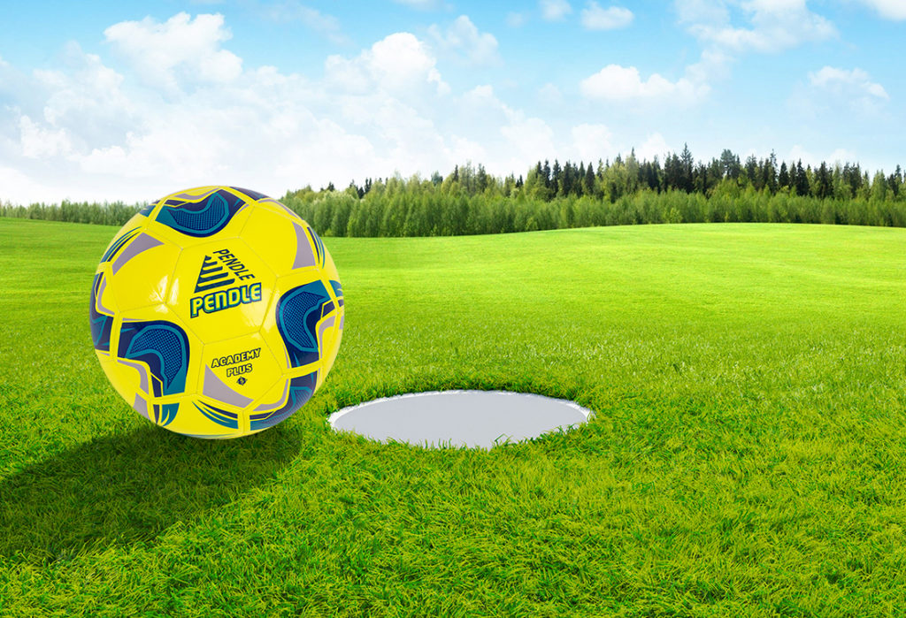 Footgolf with Pendle football