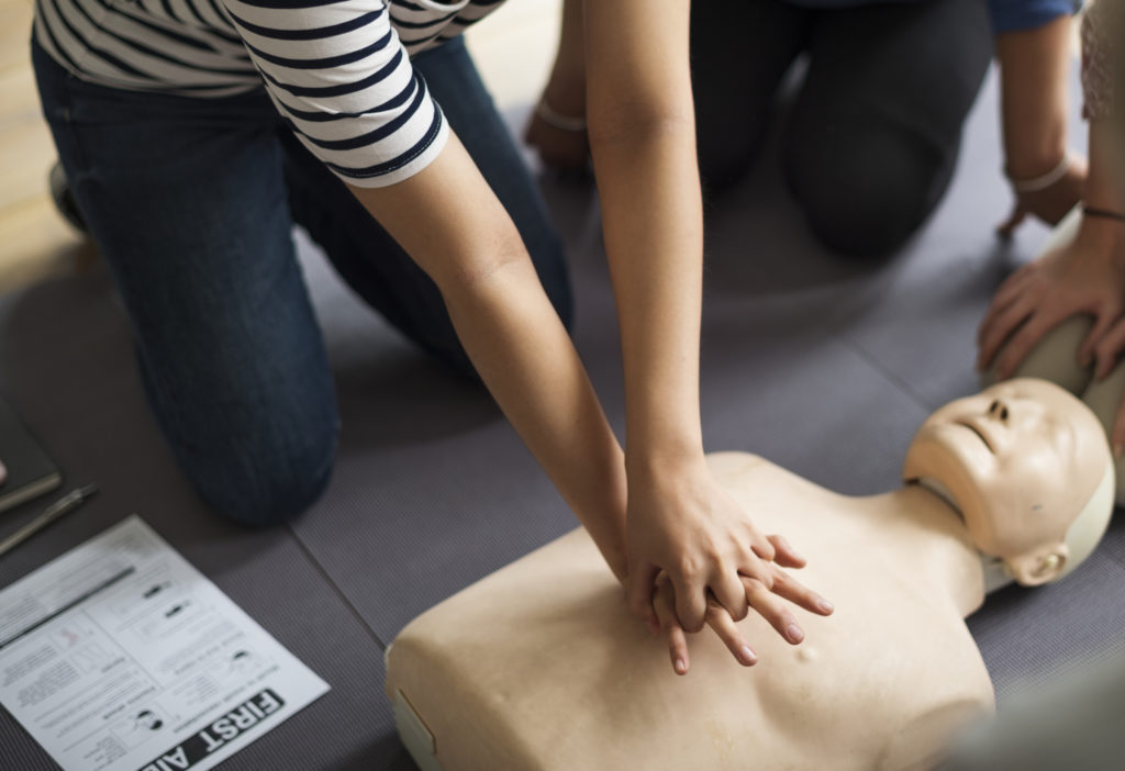 Grassroots football CPR training