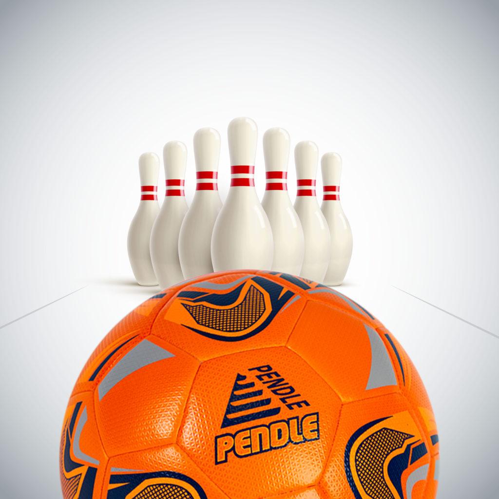Football bowling