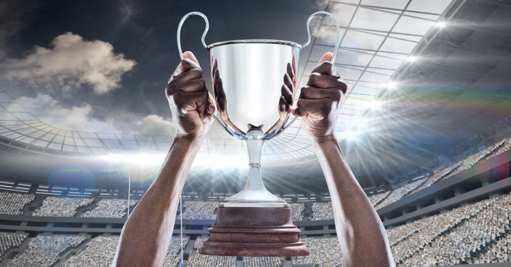 Football Trophy winner