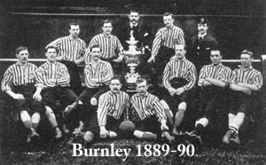 Burnley Football Club, 1889-90