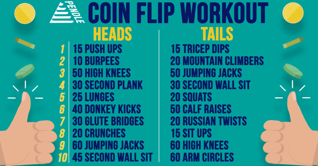 Coin Flip Workout