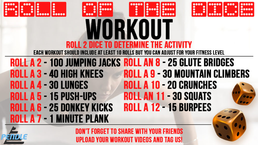 Pendle's Dice Roll Workout