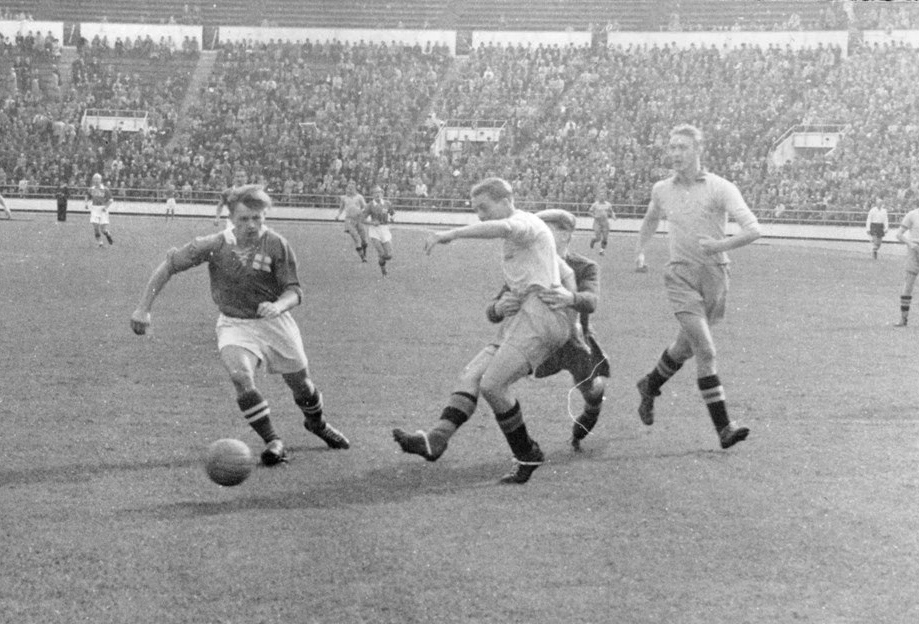 Sweden vs Finland at Helsinki in 1946