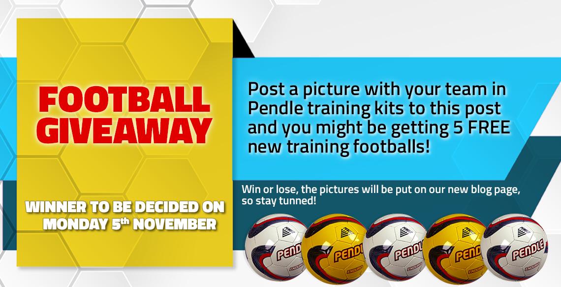Footballs - Giveaway