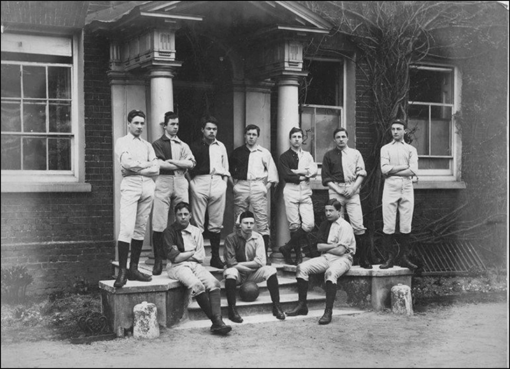 Forest School Football Team from 1884