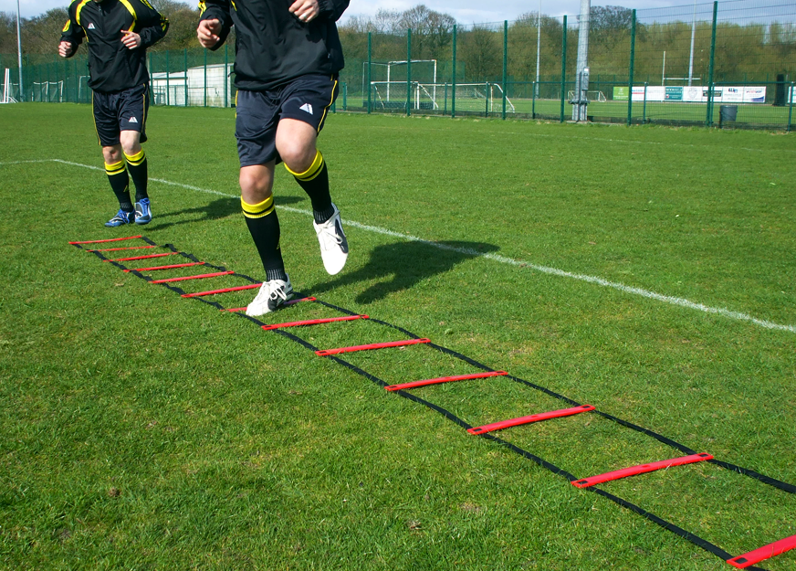 Pendle Agility Ladder Training Session