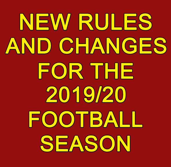 2019/20 Football Season Rules