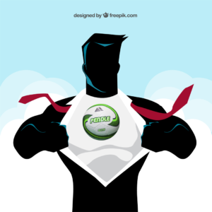 Pendle Sportswear football superhero