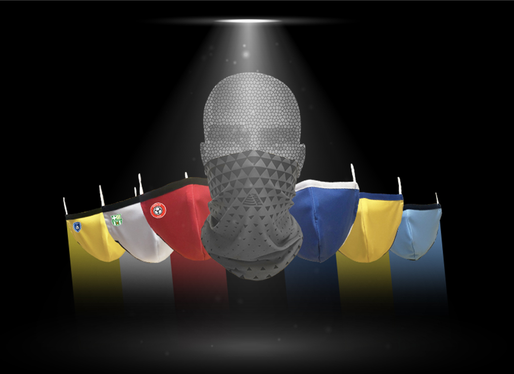 Product of the Month: Football Face Coverings