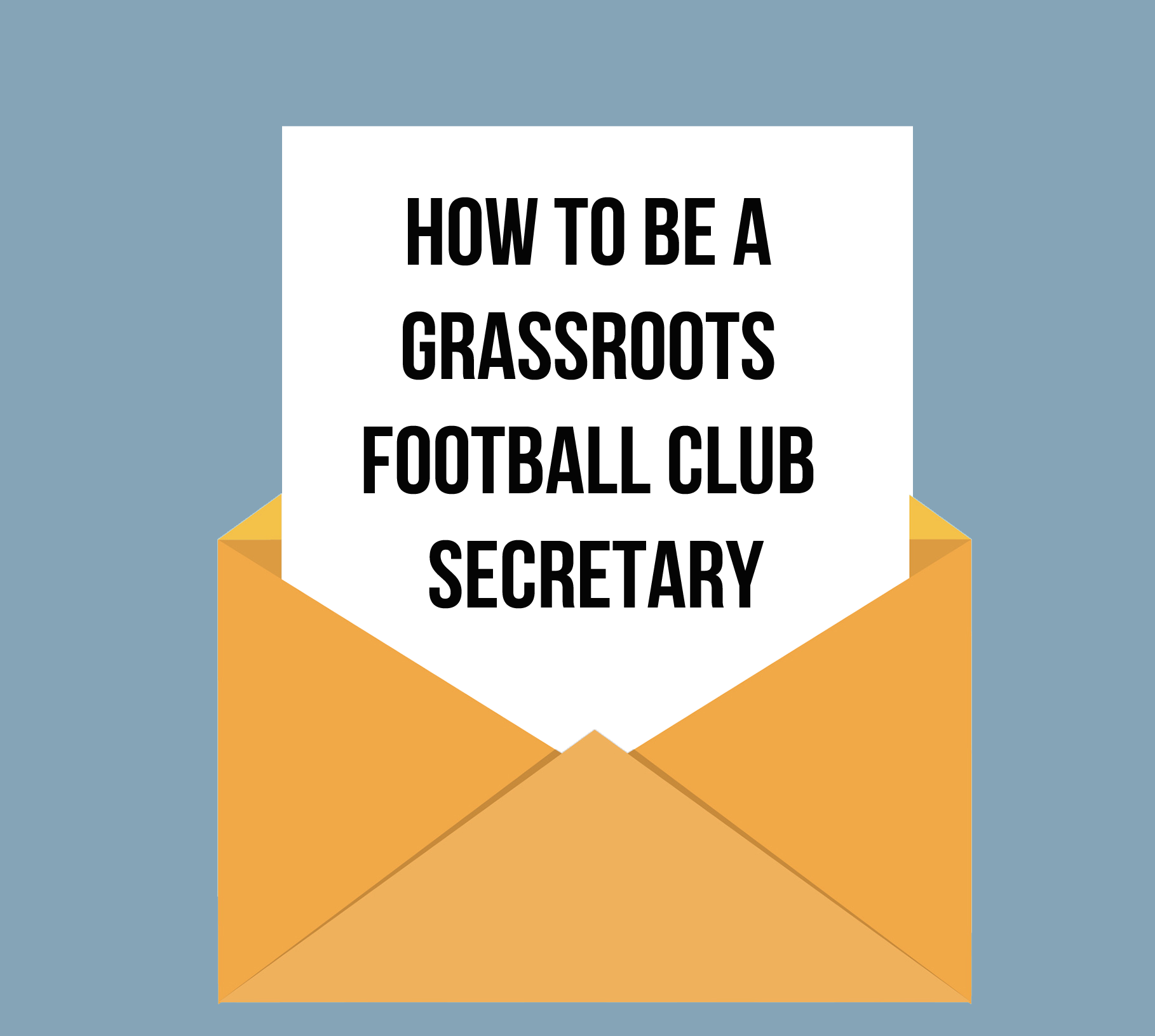 Grassroots Football club secretary