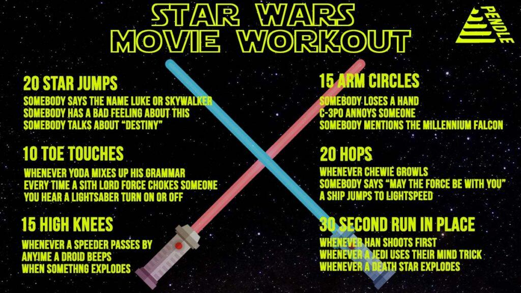 Star Wars Movie Workout