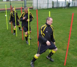 Football Training Slalom Poles