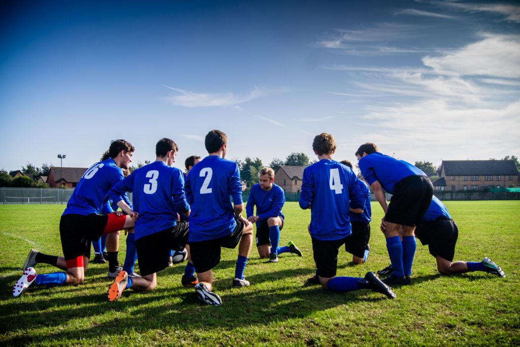 University Football Team