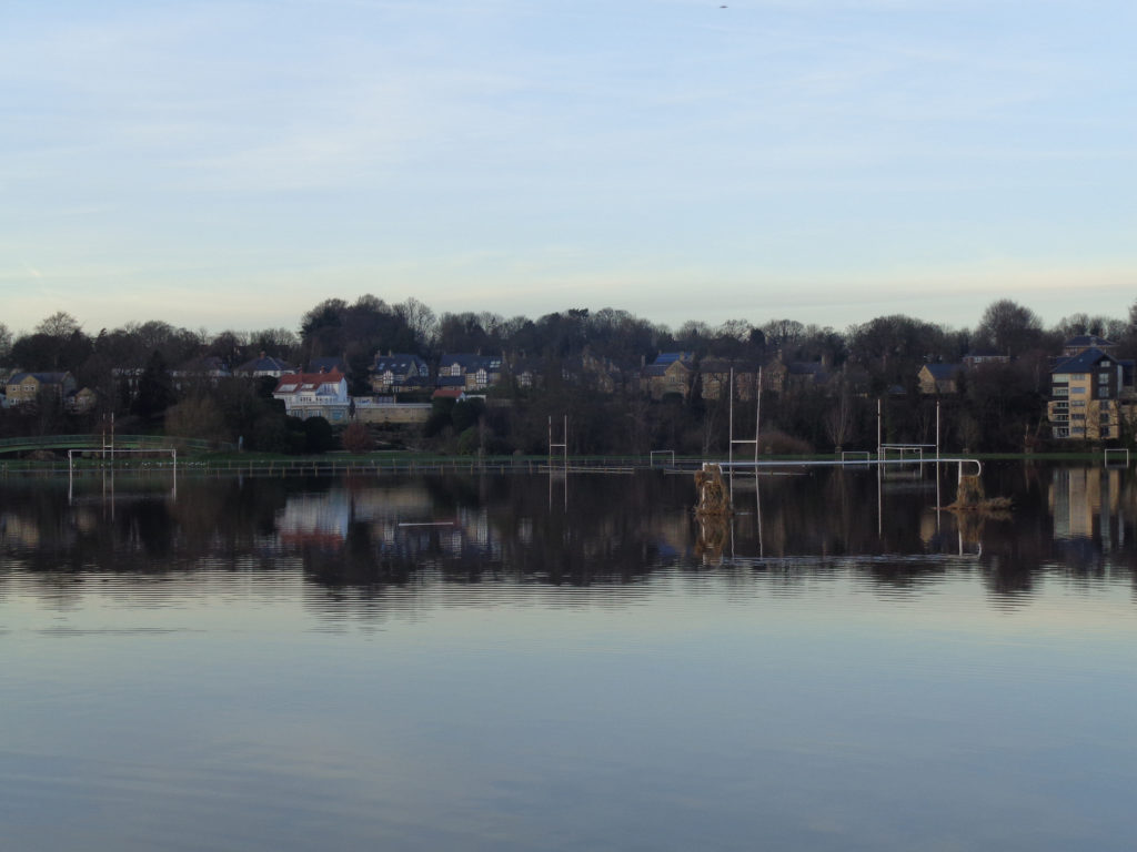 Flood football pitch, Wetherby Ing