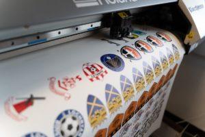 Grassroots Football Club Badges Printing