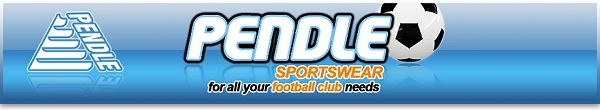 Pendle Sportswear for all your football club needs