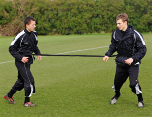 Pendle football training equipment evasion belt