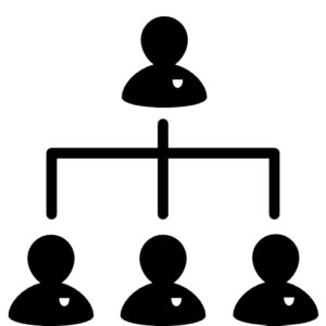 Icons of committee hierarchy