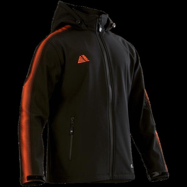 Inter Football Rain Jackets black/tangerine