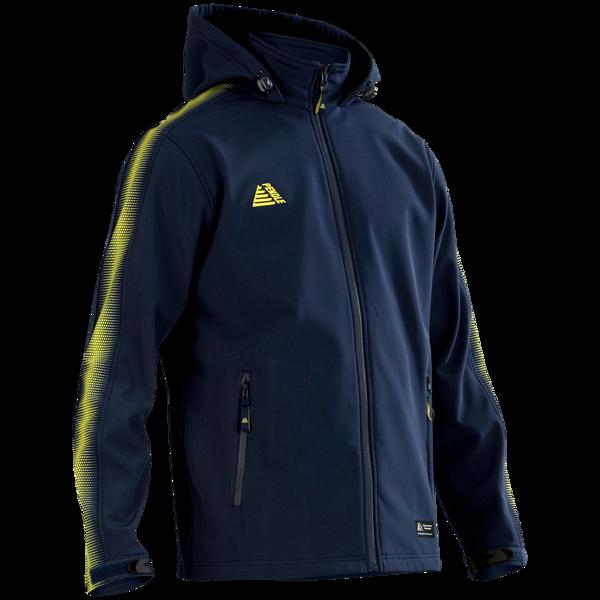 Inter Rain Jacket in navy/yellow