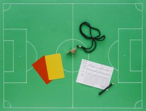Football referee essentials