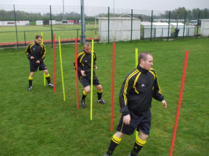 Pendle football training equipment slalom poles