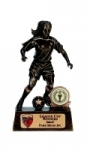 Dribbling Girl Football Trophy - Limited Stock