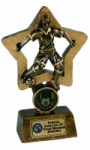 Star Girl Football Trophy - Limited Stock